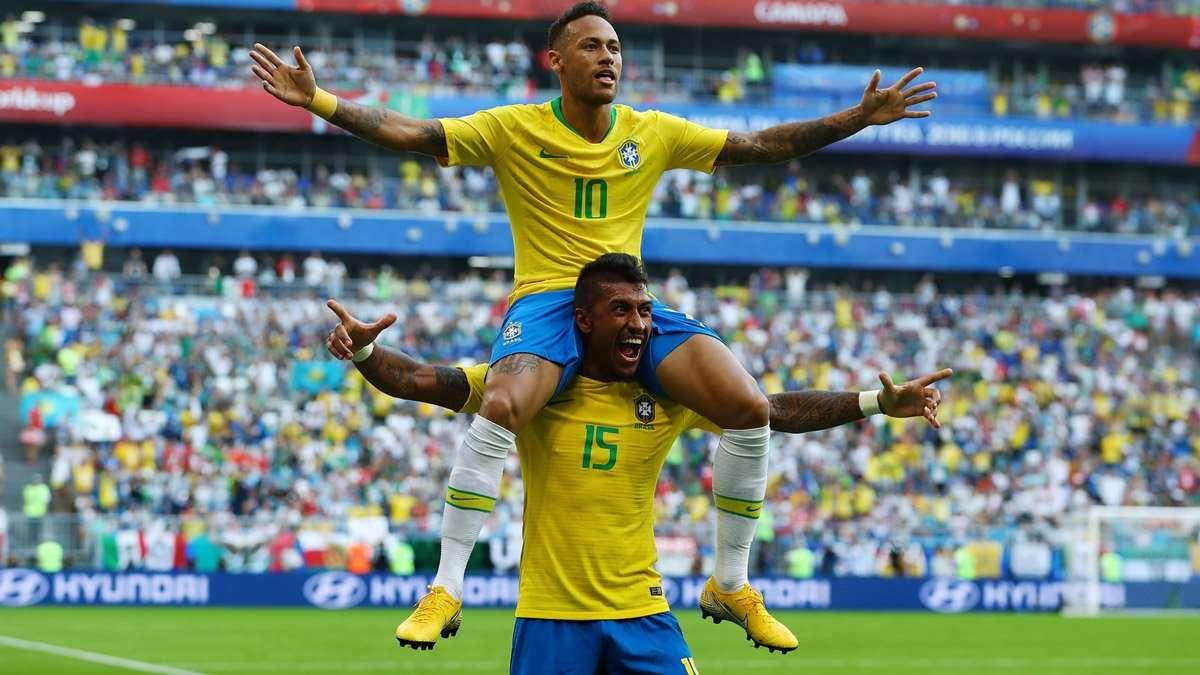 Neymar rực sáng đưa Brazil vào tứ kết