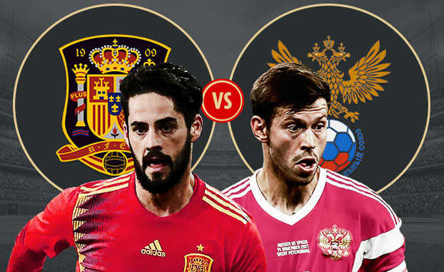 Tây Ban Nha tràn đầy tự tin sẽ hạ Nga ở vòng 1/8 World Cup 2018