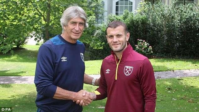Pellegrini chào mừng Wilhshere gia nhập West Ham