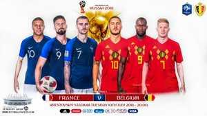 Pháp vs Bỉ: Trận chiến không khoan nhượng