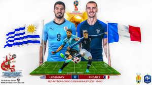 Pháp vs Uruguay: Không dễ cho Pháp