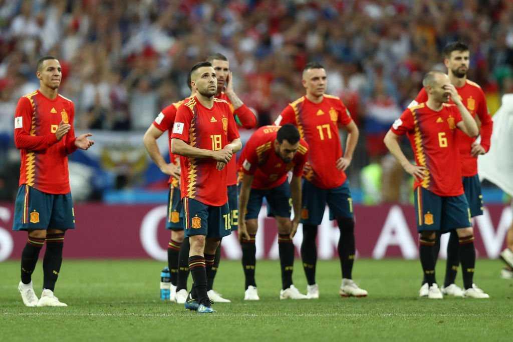Tây Ban Nha bị loại ở vòng 1/8 là điều tất yếu