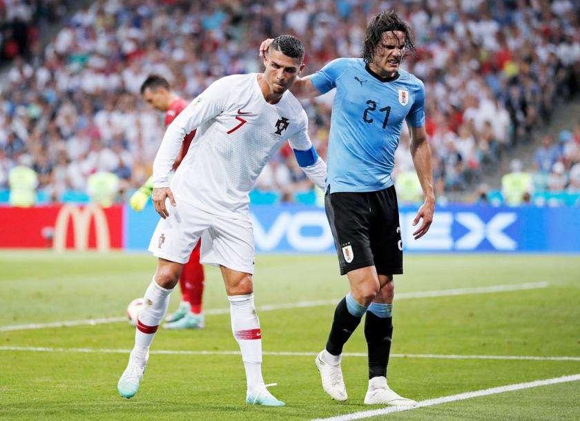 Mất Cavani sẽ là tổn thất lớn của Uruguay