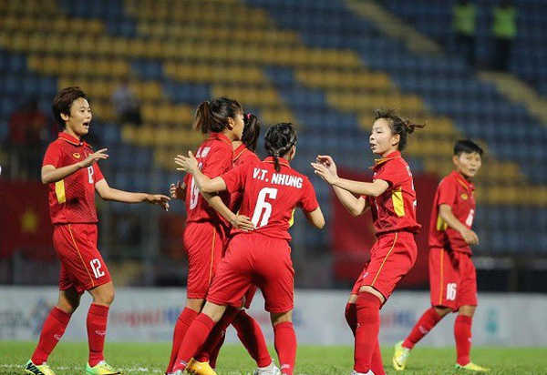 Tuyển nữ Việt Nam có trận đấu dễ dàng trước Indonesia trong ngày ra quân