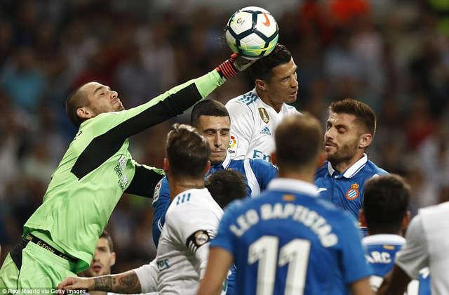 Những trận đại chiến Real Madrid-Espanyol luôn diễn ra đầy căng thẳng