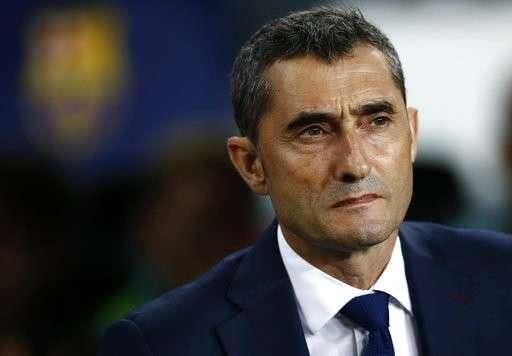 HLV Ernesto Valverde không thể hiểu nổi vì sao Barcelona thất bại trước Leganes