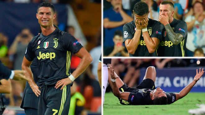 Ronaldo nhận thẻ đỏ: Sao lại hủy hoại theo cách này?