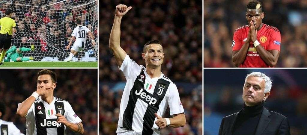 Juventus vừa dạy cho MU bài học bóng đá