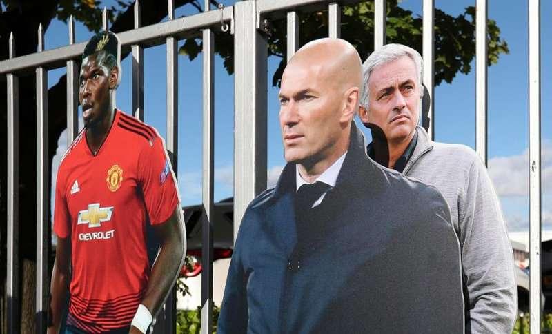Zidane được đồn đoán sẽ lên thay Mourinho