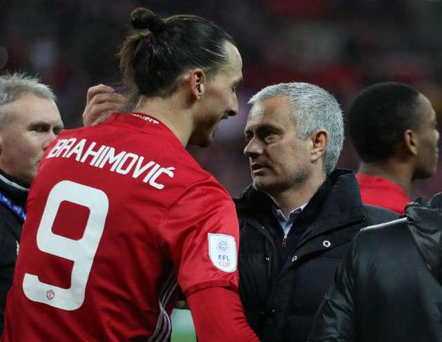 HLV Mourinho (phải) và Ibrahimovic (trái) có mối quan hệ lâu dài