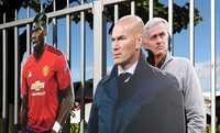 Zidane nhận được đề nghị từ chối tất cả các CLB khác để chờ Man United
