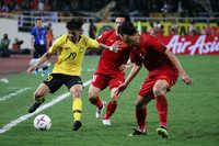 Hàng phòng ngự đang là sức mạnh của đội tuyển Việt Nam