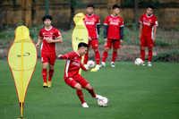 Tuyển Việt Nam sẽ thay đổi hàng tiền đạo trong trận tiếp Malaysia?