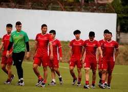 Văn Quyết, Bùi Tiến Dũng có thể tập nhẹ trước trận gặp Malaysia