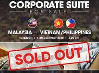 20.000 vé trận chung kết lượt đi AFF Cup được Malaysia bán hết sạch trong 30 phút