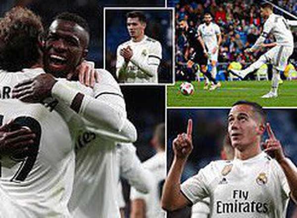 Ramos đạt cột mốc 100 bàn khi Real tiếp đón Leganes ở Cúp Nhà Vua