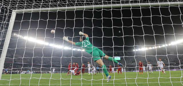 Tình huống Văn Lâm để thủng lưới bàn thứ ba trước Iraq