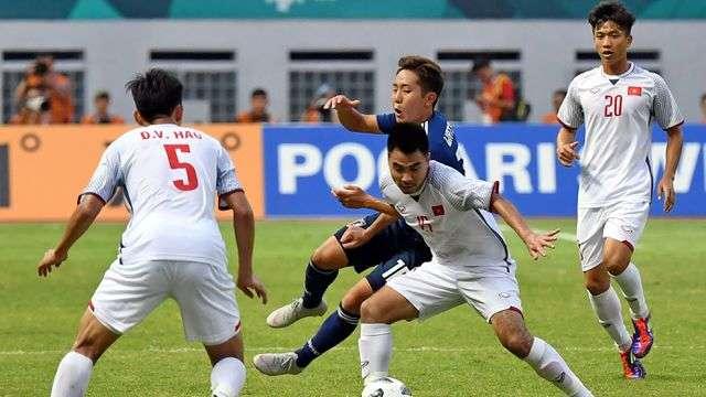 Olympic Việt Nam từng đánh bại Olympic Nhật Bản tại Asiad cách nay nửa năm