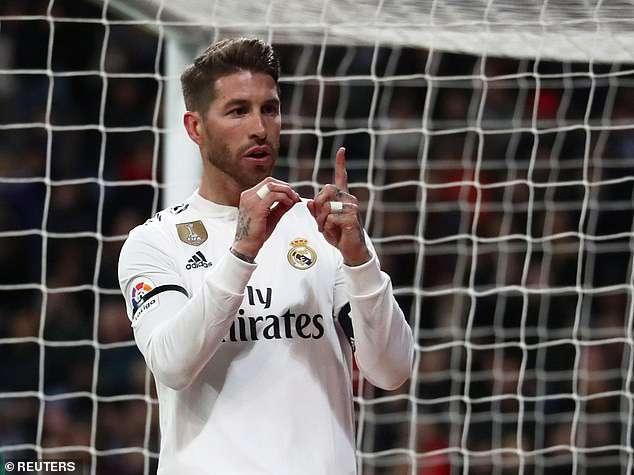 Ramos đã đạt cột mốc 100 bàn trong sự nghiệp của mình