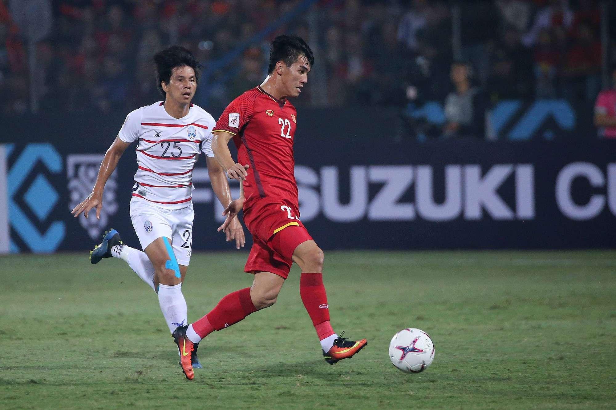 Tiến Linh là chân sút sáng giá để thay vị trí của Anh Đức trong đội tuyển Việt Nam