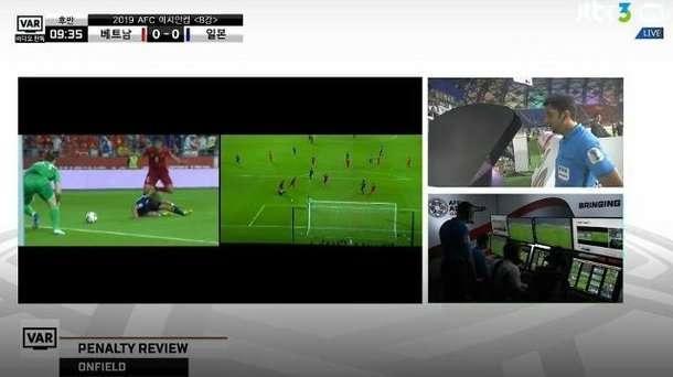 Cảnh chiếu lại video (VAR) dẫn đến quả 11m của tuyển Việt Nam được xem nhiều nhất tại Hàn Quốc