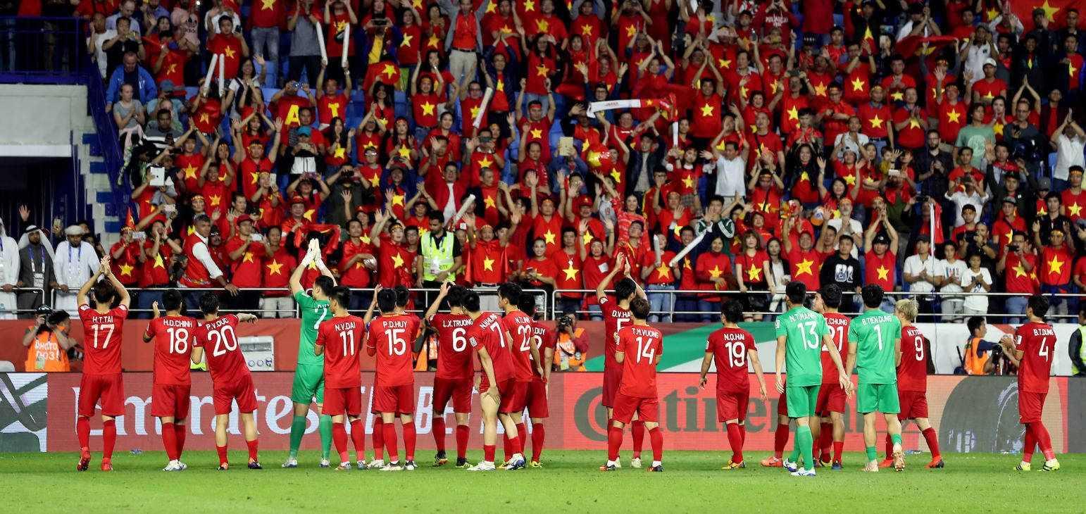Chiều 26/1/2019, tuyển Việt Nam sẽ có mặt ở sân bay Nội Bài