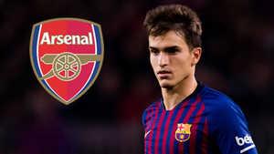 Arsenal mượn thành công Denis Suarez của Barca