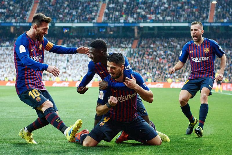 Barca lần thứ 6 liên tiếp vào chung kết Cúp Nhà Vua