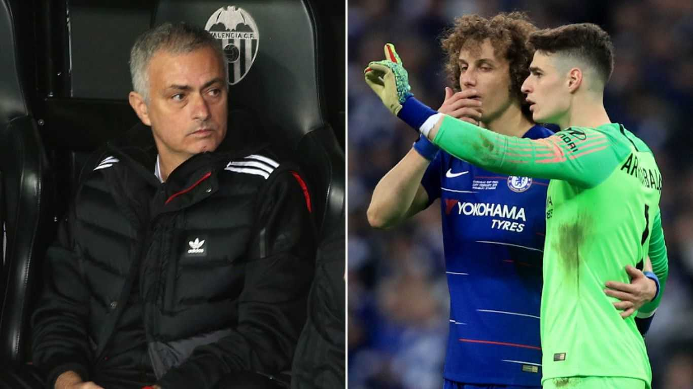 """Mourinho: """"Tôi mà còn dẫn dắt Chelsea thì Kepa Arrizabalaga muôn đời dự bị"""""""