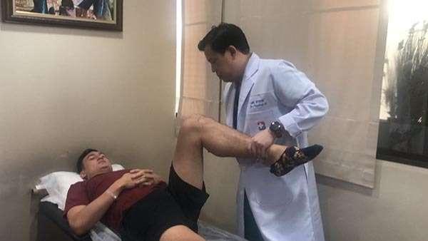 Đặng Văn Lâm được kiểm tra rất kỹ lưỡng về y tế