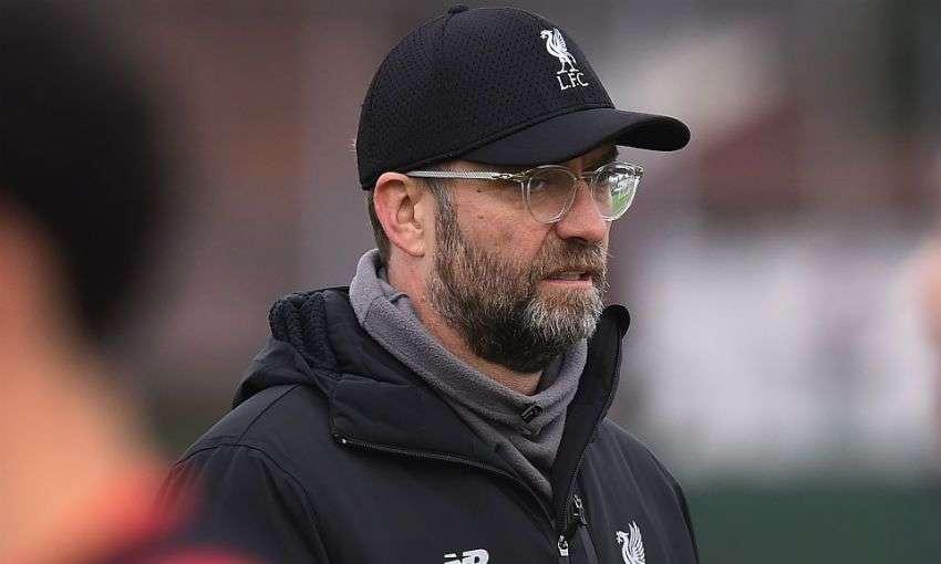 Klopp đòi hỏi khắt khe với cầu thủ Liverpool ngay trên sân tập
