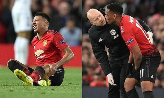 Lingard và Martial có thể trở lại trong trận gặp Liverpool