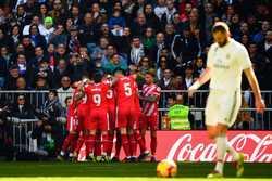 Ramos nhận thẻ đỏ, Real thua bẽ bàng trước Girona ngay trên sân nhà