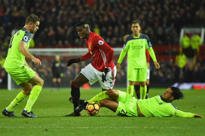 Pogba sẵn sàng thể hiện mình trong trận derby nước Anh