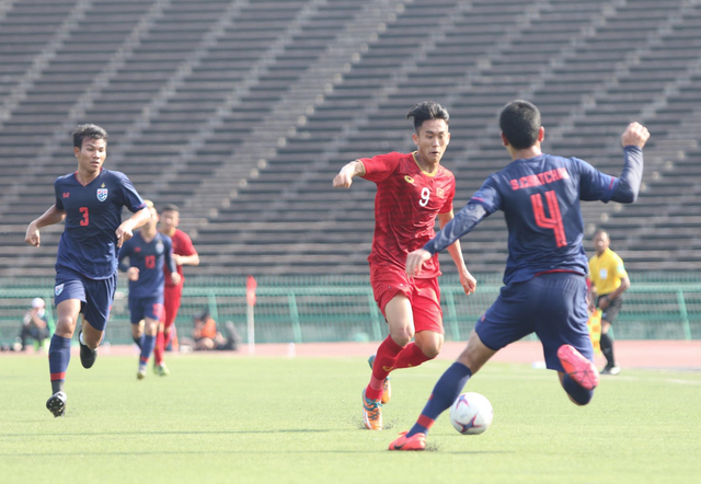 U22 Việt Nam đang tiến bộ dần qua từng trận đấu