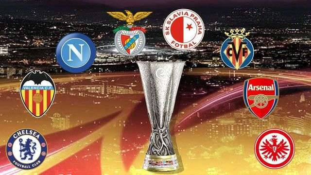 Tám đội bóng vào vòng tứ kết Europa League