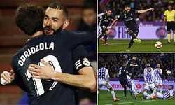Benzema tỏa sáng giúp Real lội ngược dòng ấn tượng trước Valladolid