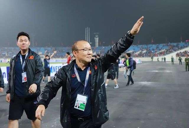Các đội bóng của Việt Nam chưa thua đối thủ từ Đông Nam Á nào dưới thời HLV Park Hang Seo