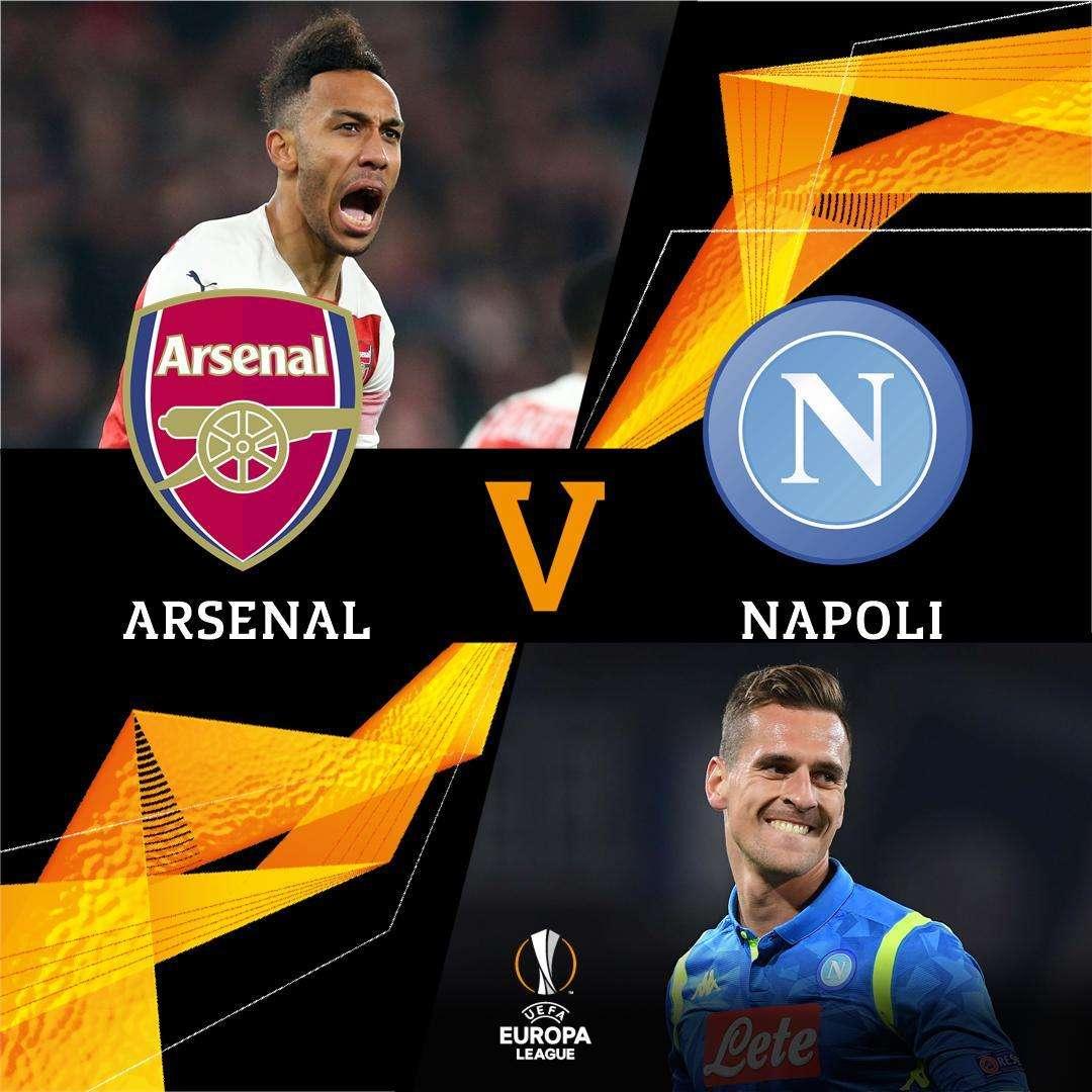 Arsenal gặp phải đối thủ khó chịu Napoli