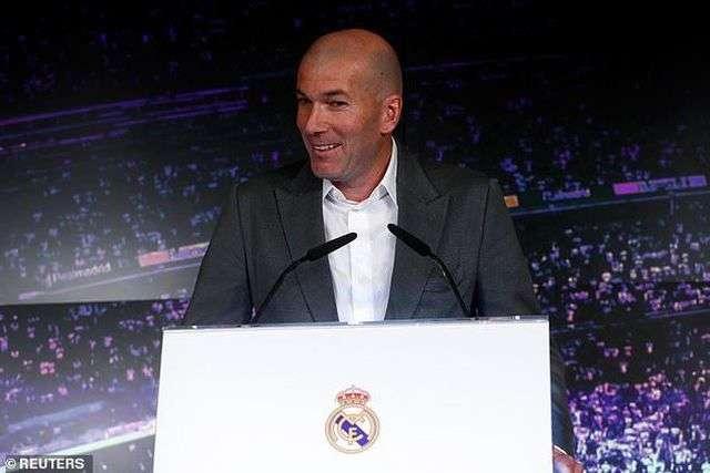 HLV Zidane đồng ý trở lại dẫn dắt Real Madrid và ông còn 11 trận ở La Liga để cứu vãn mùa giải thất bại