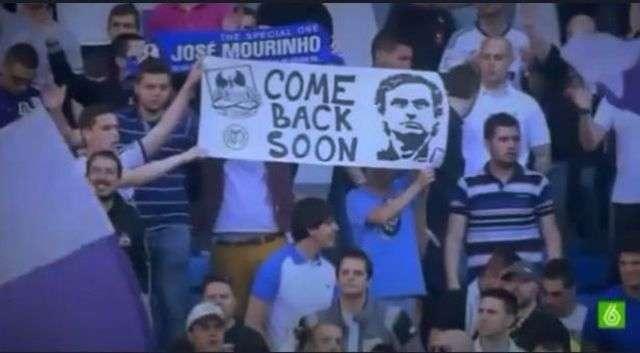 CĐV Real Madrid kêu gọi HLV Mourinho ở lại
