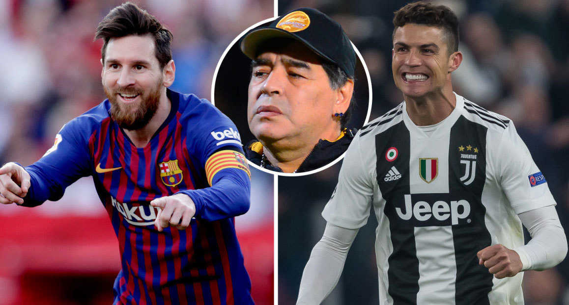Maradona hết lời khen ngợi Ronaldo trong trận đấu với Atletico Madrid