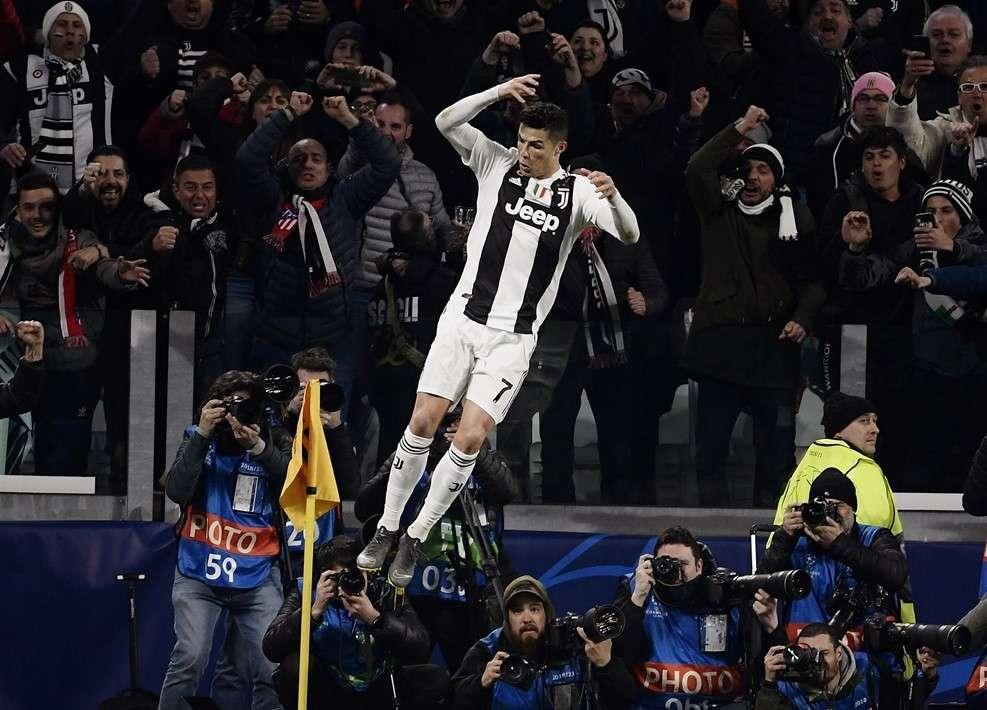 Ronaldo bay cao ở Allianz trong đêm Juventus tiếp Atletico