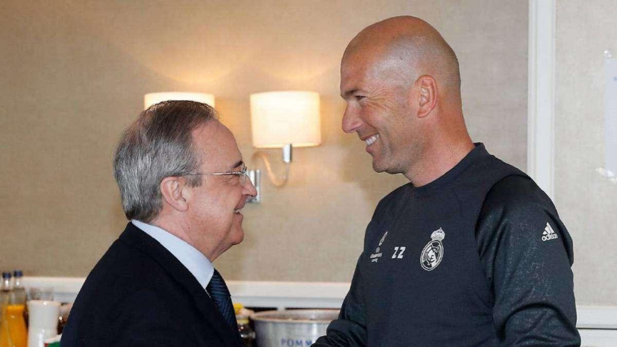 Chủ tịch Perez sửa sai kịp lúc, đưa Zidane trở lại Real Madrid