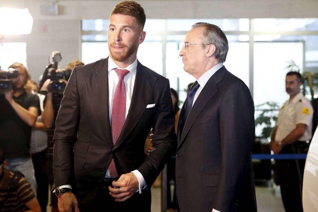 Ramos không ngại cãi thẳng mặt Chủ tịch Perez