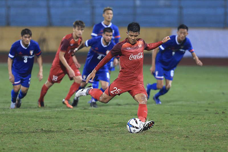 Đức Chinh được giao trọng trách ghi bàn cho U23 Việt Nam