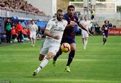 Real Madrid cần thắng Eibar để giải tỏa áp lực cho Zidane