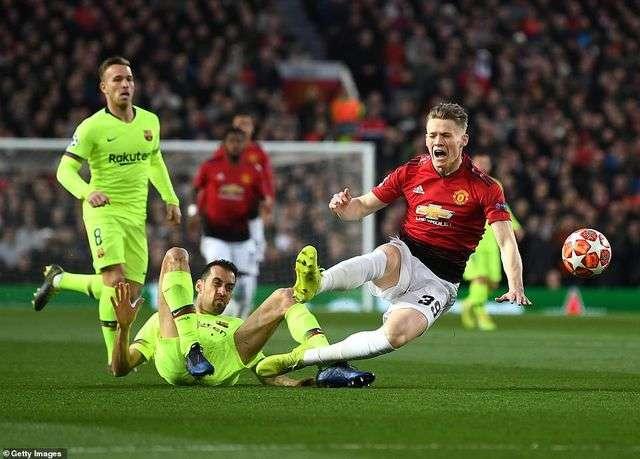Man Utd buộc phải chơi tấn công nếu muốn mơ về cuộc lội ngược dòng tại Nou Camp