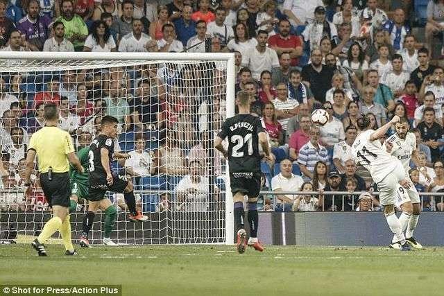Bale chưa đáp ứng được kỳ vọng của HLV Zidane