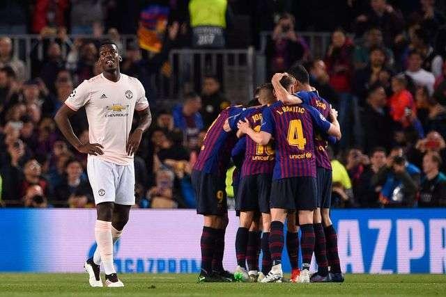 MU hứng chịu thất bại nặng nề nhất trong lịch sử ở cúp châu Âu (tính sau 2 lượt trận)